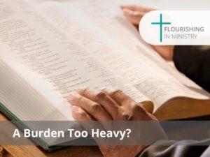 A Burden Too Heavy?
