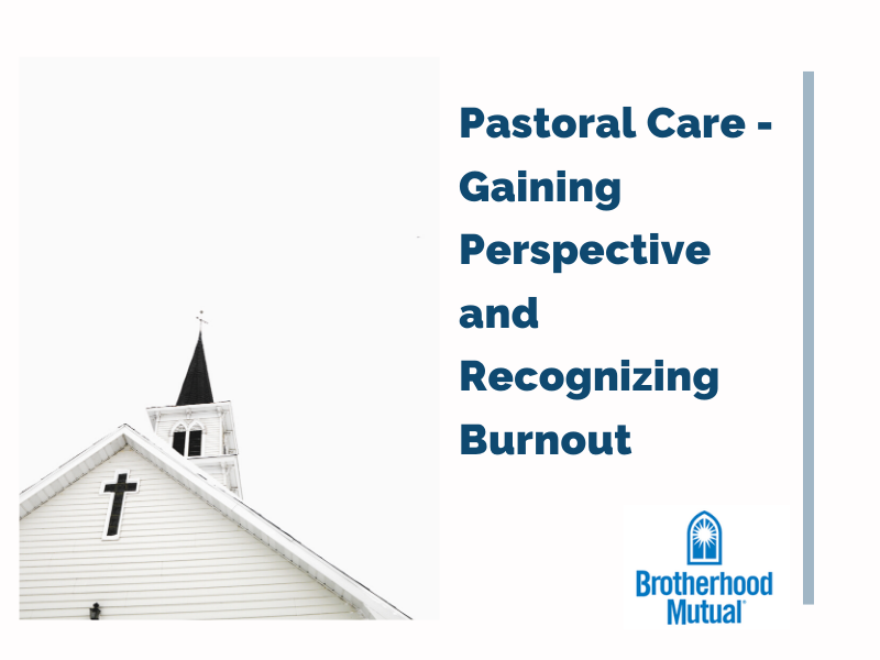 Gaining Perspective and Recognizing Burnout