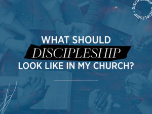 What should DISCIPLESHIP look like in my church?
