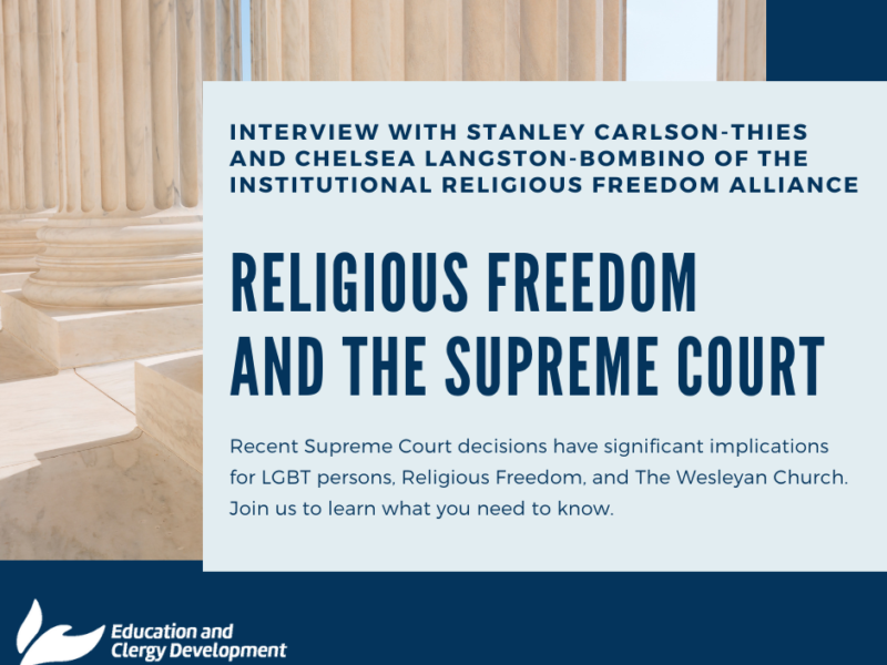 Religious Freedom and the Supreme Court