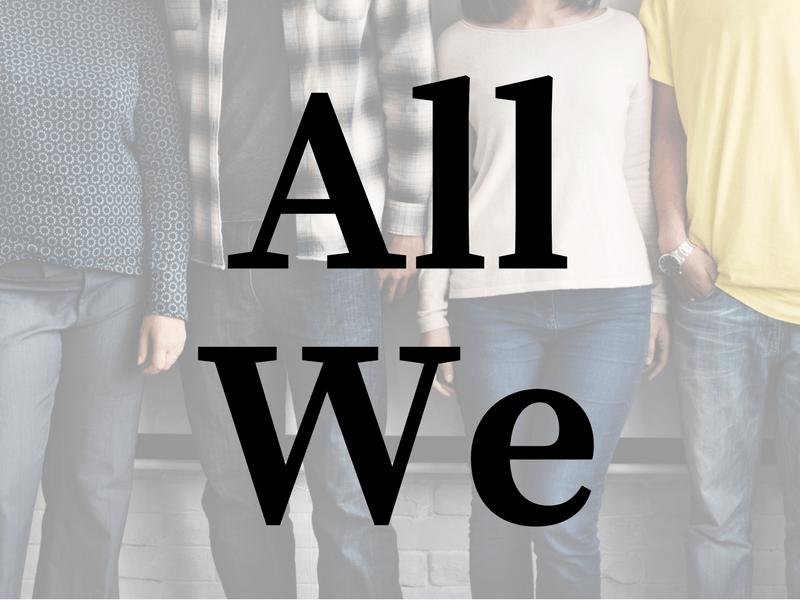 All We (SpringLife 2016)