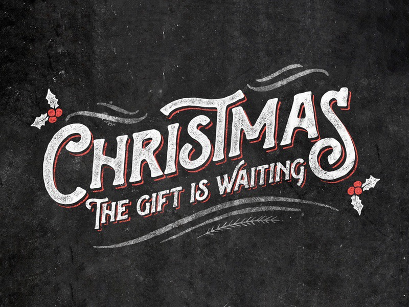 Christmas   The Gift is Waiting
