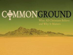 Common Ground – Shepherding Resources