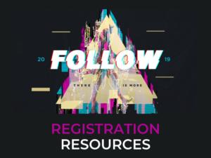 FOLLOW 2019 – Registration Resources