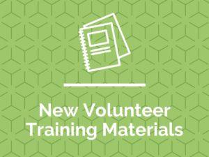 Volunteer Training Materials (Celebrate)