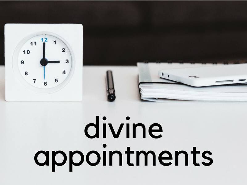 Divine Appointments (SpringLife 2011)