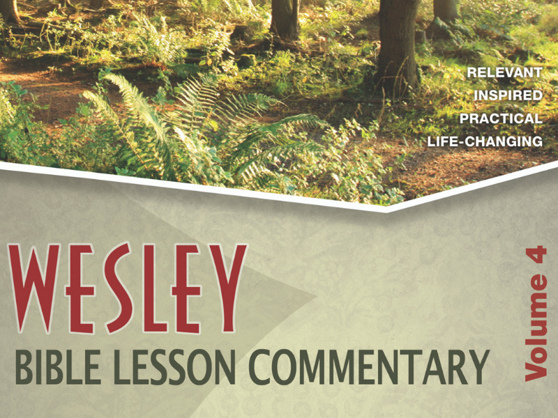 Wesley Bible Lesson Commentary Series – Shepherding Resource