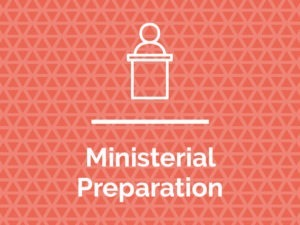 Ministerial Preparation Information Packet