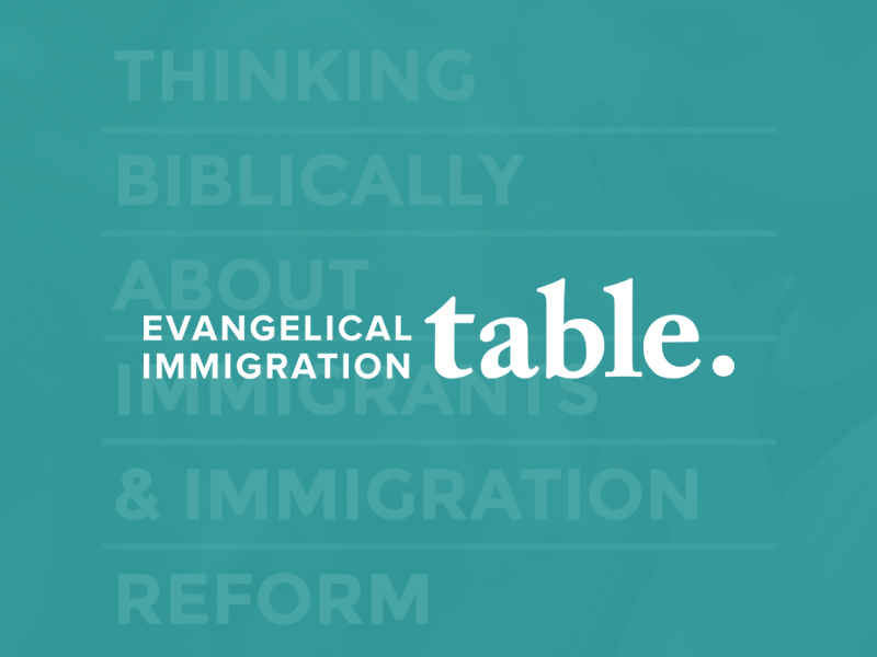 Thinking Biblically about immigrants and immigration reform